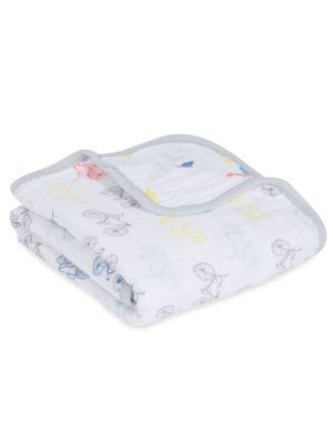 Aden + Anais Classic Muslin Stroller Blanket Leader of the Pack