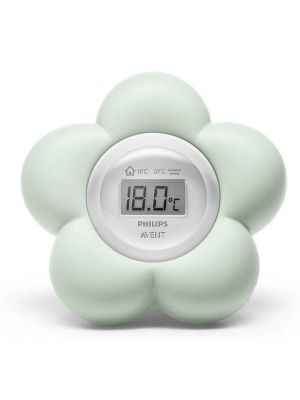 Avent Room & Bath Thermometer Green