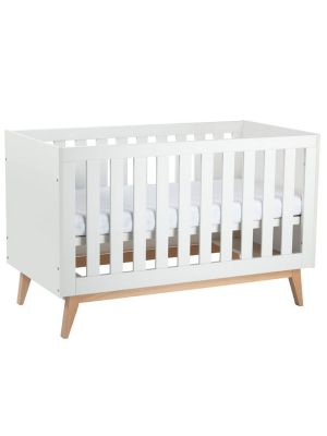 Babyrest Tommi Cot White with ComfiCore Mattress