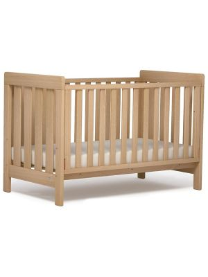 Boori Daintree Cot Bed V19 (with dropside) Almond + Breathable Mattress