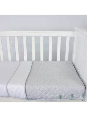Bubba Blue Air+ Sleep Pouch 2.5Tog Large Cot White Grey