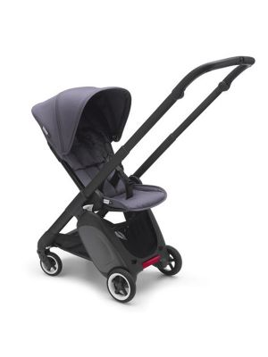 Bugaboo ANT Stroller Black Chassis with Bugaboo Ant Leg Rest, Rain Cover, Organiser and Carry Strap