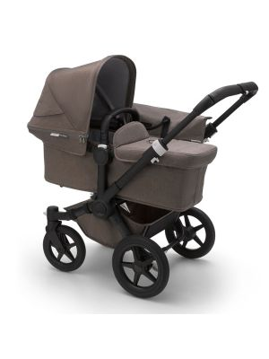 Bugaboo Donkey 3 Mineral Mono Complete Stroller Black/Taupe