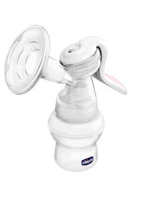 Chicco Wellbeing Manual Breast Pump Bottle