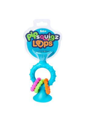 Fat Brain pipSquigz Loops Teal Toy