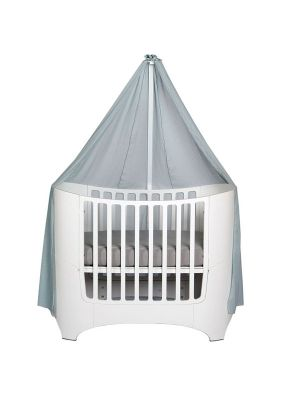 Leander Cot Canopy V21 Dusty Blue (need to purchase Leander Classic Canopy Rod)