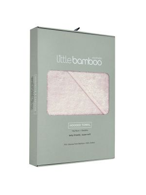 Little Bamboo Hooded Towel Dusty Pink