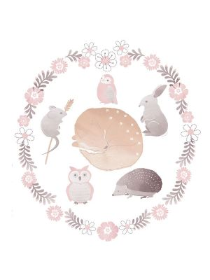 Lolli Living Forest Friends Wall Decal Set