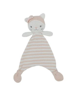 Living Textiles Knit Security Blanket Daisy the Cat