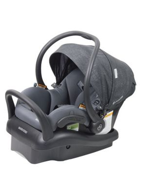 Maxi Cosi Mico Plus Infant Carrier Non Isofix Night Grey With BONUS Maxi Cosi Deluxe Back Seat Organiser VALUED AT $29.99