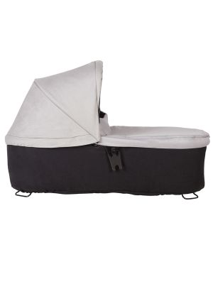 Mountain Buggy Duet Carrycot Plus V3 - Silver