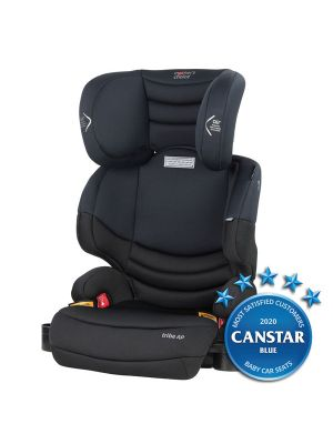 Mothers Choice Tribe AP Unharnessed Booster Black Space with bonus maxi cosi deluxe back seat organiser valued at $29.99