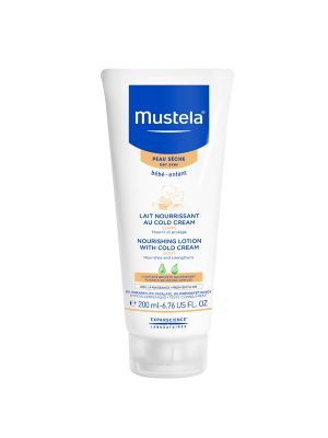 Mustela Nourishing Lotion with Cold Cream 200ml (Dry Skin)