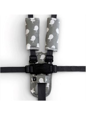 Outlook Harness Cover Set - Grey Birds