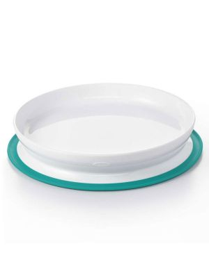 OXO TOT Stick & Stay Suction Plate Teal
