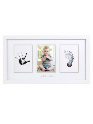 Pearhead Babyprints Photo Frame White with Closed Box