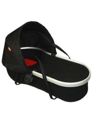 Phil&Teds Peanut Bassinet for Classic/Sport/Dash Black/Red - Online Only!