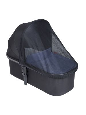 Phil&Teds Snug Carrycot All Weather Cover Black & Clear