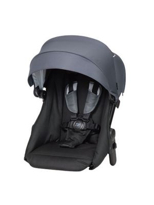 Steelcraft One 2 Travel System Stroller Second Seat Steel Grey