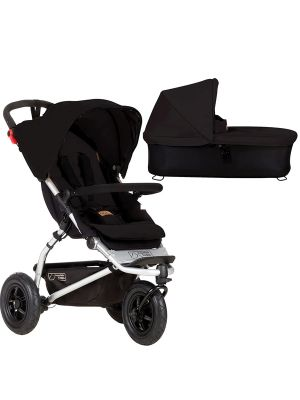 Mountain Buggy Swift Buggy V3.2 Black + Carrycot