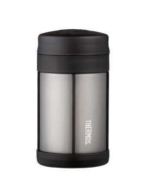 Thermos® FUNtainer® Stainless Steel Vacuum Insulated Food Jar 470ml Charcoal