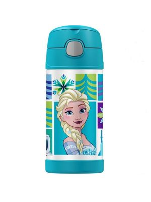 Thermos® FUNtainer® Vacuum Insulated Drink Bottle Disney Frozen 355ml