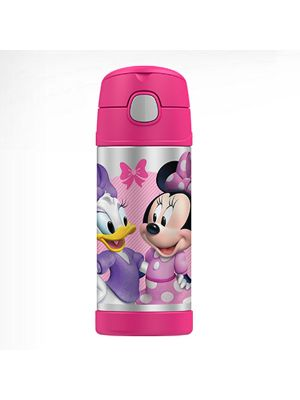 Thermos® FUNtainer® Vacuum Insulated Drink Bottle 355ml Disney Minnie Mouse