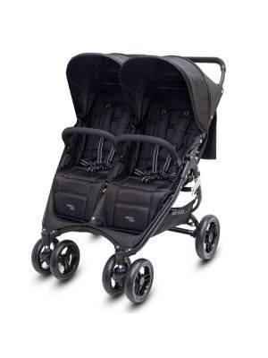 Valco Baby Snap Duo Black Beauty with BONUS SNACK TRAY-MIRROR MESH-UNIVERSAL CUP HOLDER VALUE $94.97