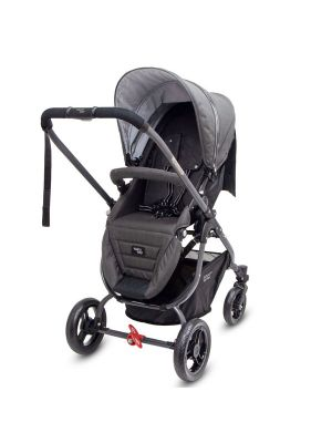 Valco Baby Snap Ultra Tailor Made Stroller Charcoal with BONUS SNACK TRAY-MIRROR MESH-UNIVERSAL CUP HOLDER VALUE $84.97