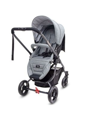 Valco Baby Snap Ultra Tailor Made Stroller Grey Marle with BONUS SNACK TRAY-MIRROR MESH-UNIVERSAL CUP HOLDER VALUE $84.97