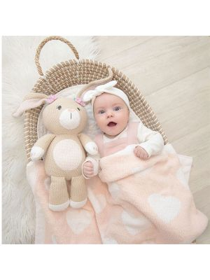 Living Textiles Whimsical Softie Toy Amelia The Bunny