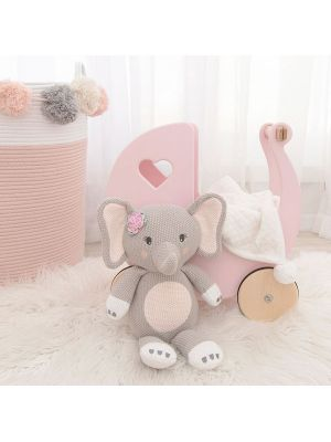 Living Textiles Whimsical Softie Toy Ella The Elephant