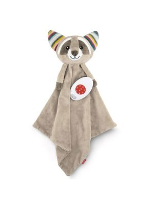 Zazu Baby Comforter With Heartbeat Sound Robin the Racoon